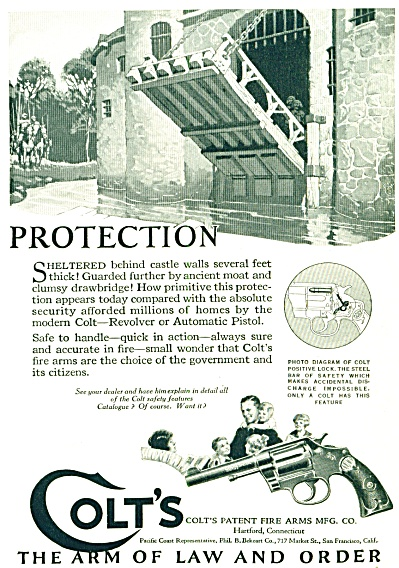 1924 - Colt's patent fire arms ad (Image1)