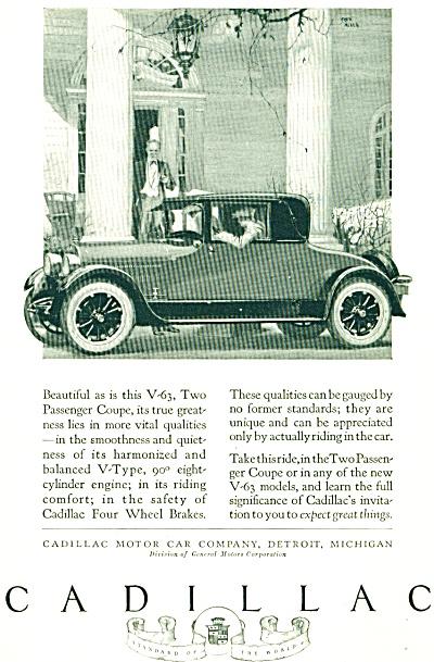 1924 -  Cadillac automobile ad (Image1)