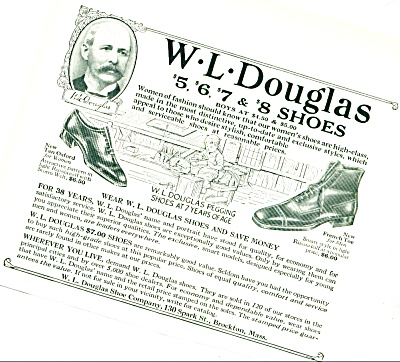 1924 -  W. L.Douglas shoes ad (Image1)