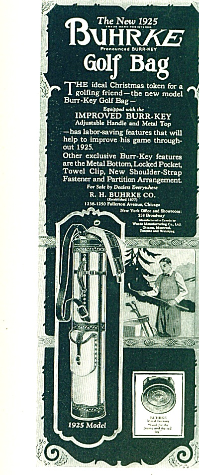 1924 -  Buhrke golf bag ad (Image1)