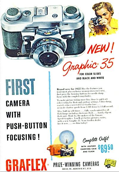 1955 - Graflex prize winning cameras ad (Image1)