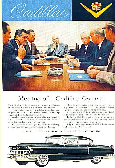 1955- Cadillac automobile ad (Image1)