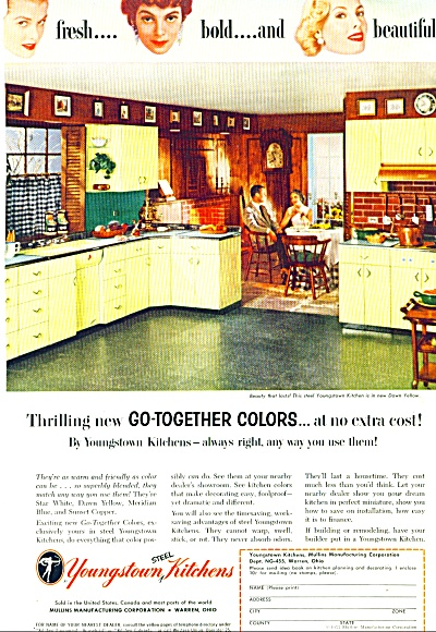 1955- Youngstown steel kitchens ad (Image1)