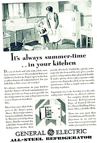 1929 - General electric all steel refrigerato (Image1)