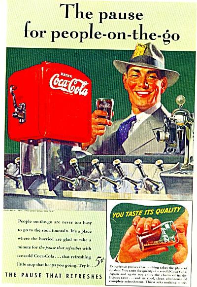1941 -  Coca Cola ad (Image1)