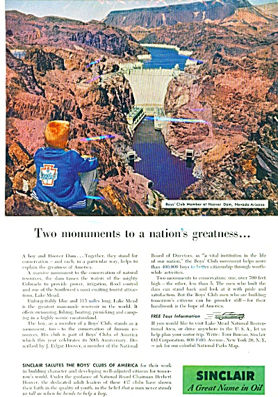 1956 -  Sinclair oil co. ad (Image1)