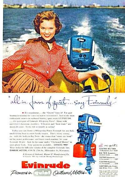 1955 - Evinrude motors ad (Image1)
