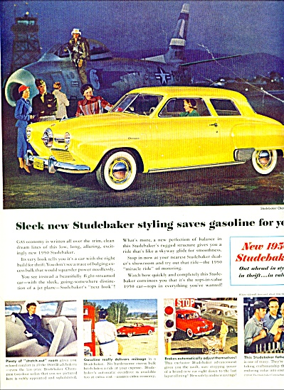1950 - New Studebaker for 1950 ad (Image1)