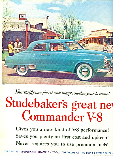 1951 - Studebaker Commander V-8 for 1951 (Image1)