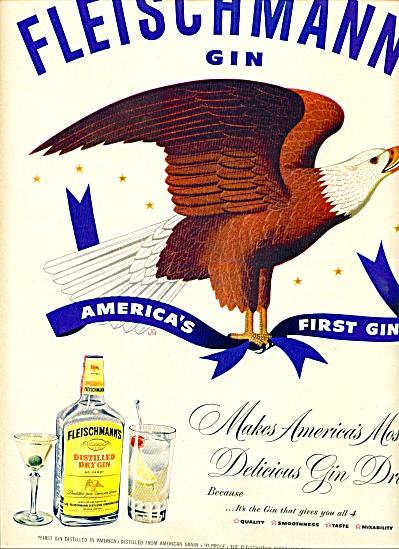 1951 -  Fleischmann's gin ad (Image1)