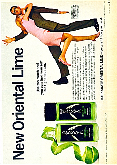 1968 - Hai Karate - Oriental Lime ad (Image1)