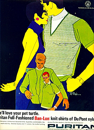 1968 - Puritan dupont nylon shirts. (Image1)