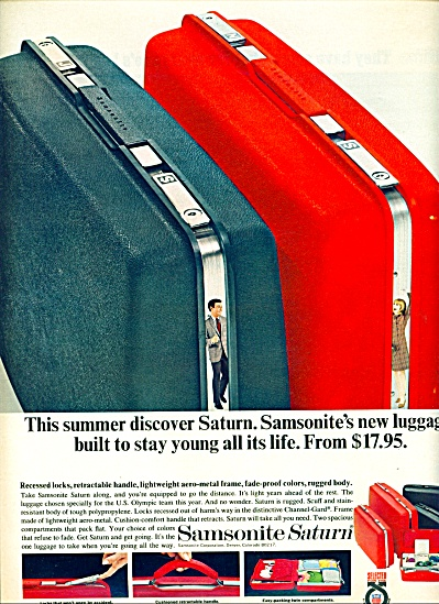 1968 - Samsonite saturn luggage ad (Image1)
