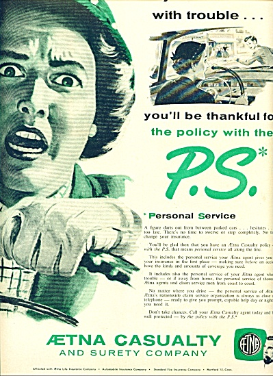1955 -  Aetna Casualty and surety company ad (Image1)