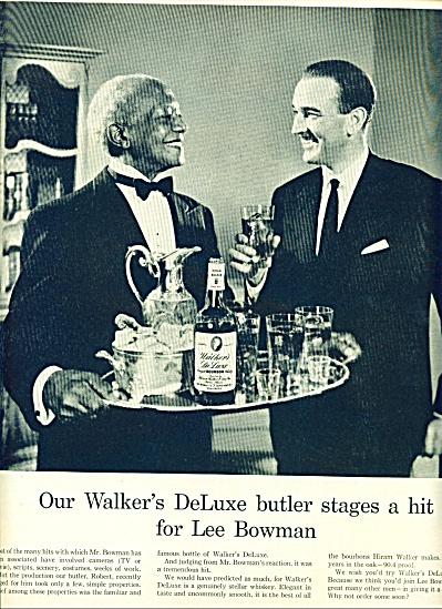 1955 - Walters Deluxe whiskey - LEE BOWMAN (Image1)