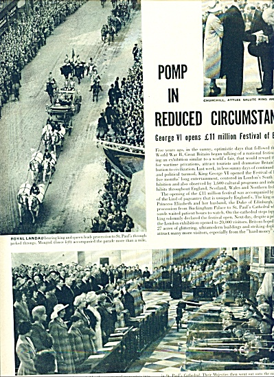 1951 - King George VI opens festival story (Image1)