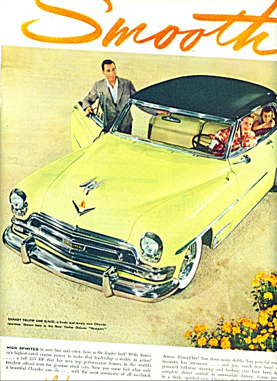 1954 - Chrysler Automobile Ad