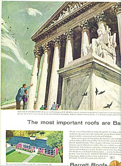 1954 - Barrett Roofs ad (Image1)