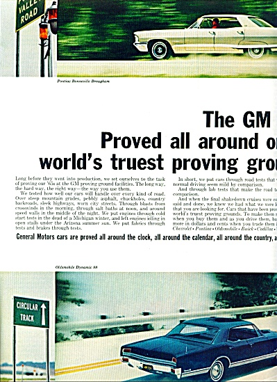 1964 -  The GM autos for 1965 ads (Image1)