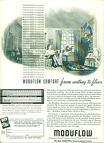 1945 - Moduflow heating control system ad (Image1)