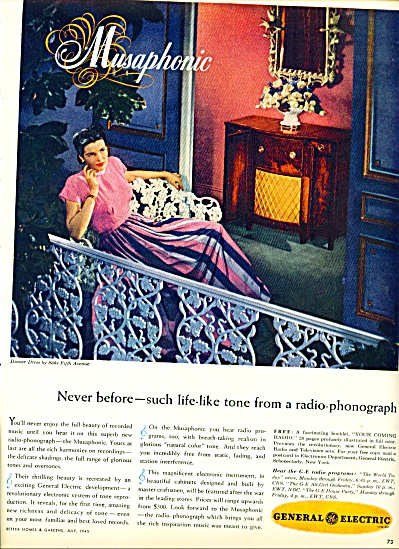 1945 -  General Electric Musaphonic ad (Image1)