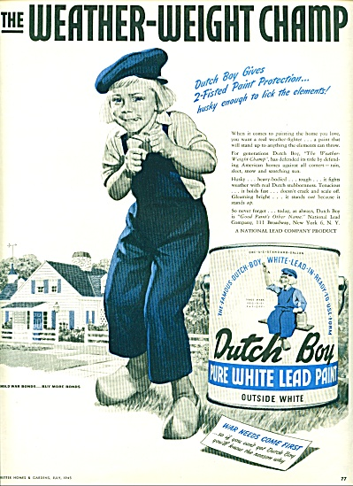 1945 - Dutch boy paint ad (Image1)