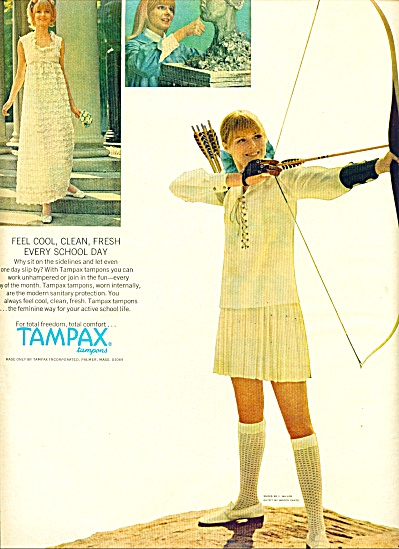 1968 - Tampax tampons ad (Image1)