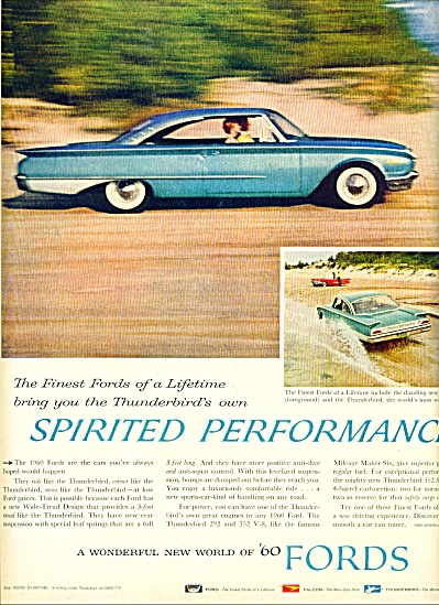 1960 -  Ford's automobile for 1960 (Image1)