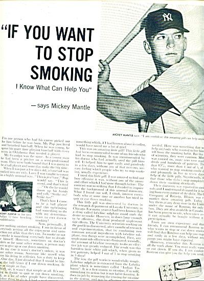 1960 -  Bantron smoking deterrent tablets (Image1)