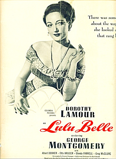1948 -  Movie:  Lulu Bell - DOROTHY LAMOUR (Image1)