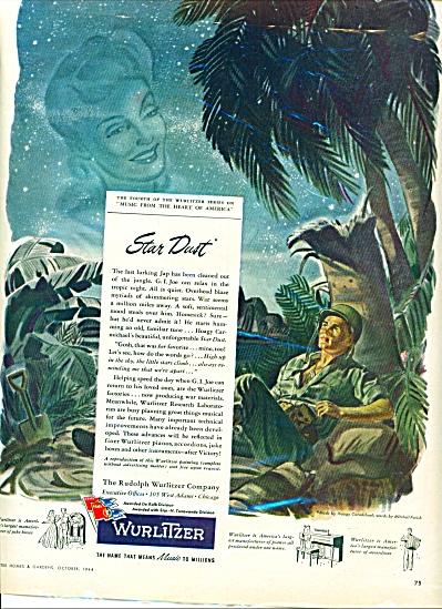 1944 -  Wurlitzer music company ad (Image1)