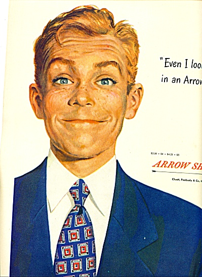 1948 -  Arrow shirts ad (Image1)