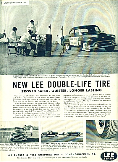 1954 -  Lee Tires ad (Image1)