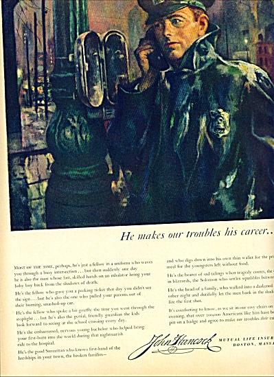 1954 -  John Hancock Insurance company ad (Image1)