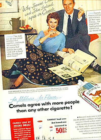 1954 -  Camel cigarettes - JOANNE DRU (Image1)