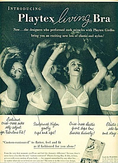 1954 -  Playtex living bra ad (Image1)