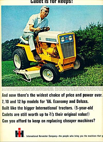 1966 -  International Harvester company cadet (Image1)