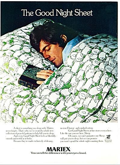 1972 -  Martex night sheet ad (Image1)