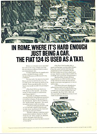1972 -  Fiat automobile ad (Image1)