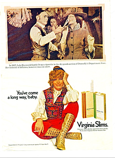 1971 -  Virginia slims ad (Image1)