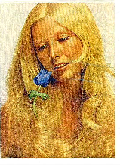 1971 - TONI Look of nature hair color ad MODEL (Image1)