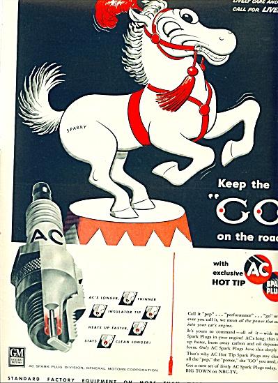 1955 -  AC spark plugs ad (Image1)