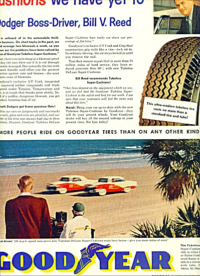 1955 -  Goodyear  tubeless deluxe super (Image1)