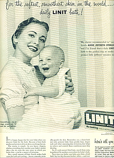 1955-  Linit laundry starch ad (Image1)