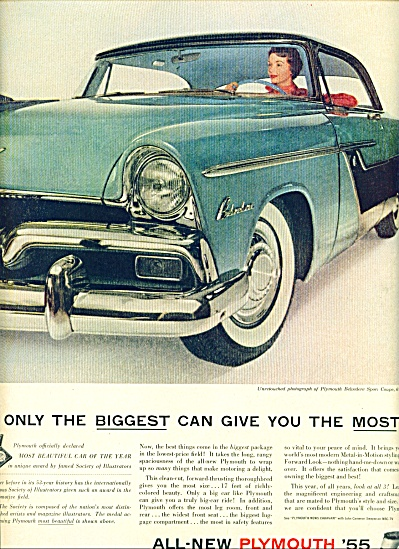 1955 -  Plymouth for 1955 ad (Image1)