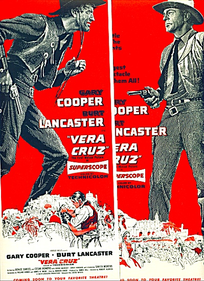 Movie: Vera Cruz-gary Cooper-lancaster