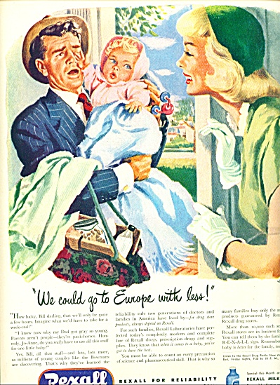 1947 -  Rexal drugs ad (Image1)