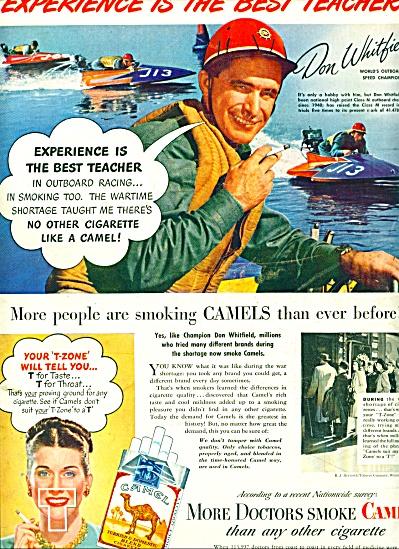 1947 -  Camels cigarettes ad (Image1)
