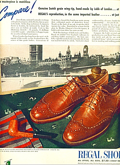 1946 -  Regal shoes ad (Image1)