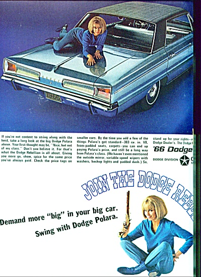 1965 -  Dodge Polara for 1966 (Image1)